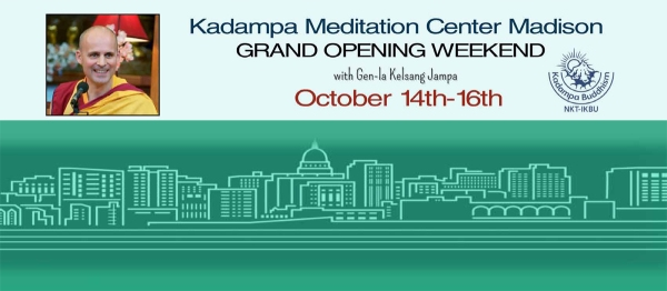 Grand Opening Weekend, Oct 14-16; Modern Buddhism: Happiness & Our Human Potential