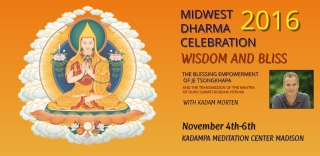 Midwest Dharma Festival - Fri, Nov 4-Sun, Nov 6