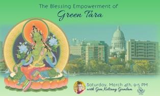 Green Tara Empowerment - Sat, Mar 4