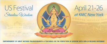 US Kadampa Festival: April 21-26 @ KMC NY